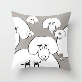 Animal Testing - Really people? Throw Pillow