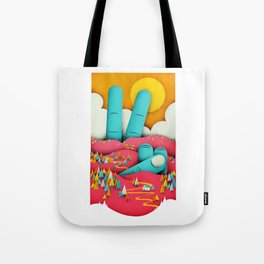 Finding Peace Tote Bag