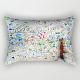 Hands on Berlin Wall Rectangular Pillow