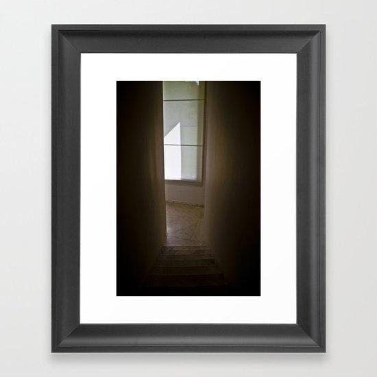 Go to the Light Framed Art Print