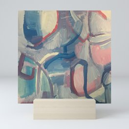Shards of Sanguine Mini Art Print