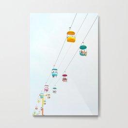 Santa Cruz Gondolas Metal Print