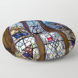 Stained Glass Floor Pillow