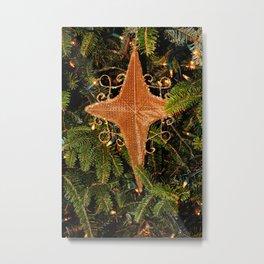 Nativity Star Metal Print