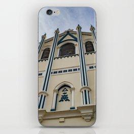 La Capilla Maria Auxiliadora Gothic Style Catholic Church, Granada, Nicaragua iPhone Skin