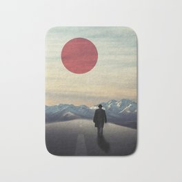 Lonely road Bath Mat