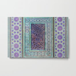 Moorish rug Metal Print