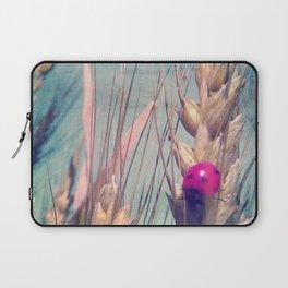 Pink Ladybug Laptop Sleeve