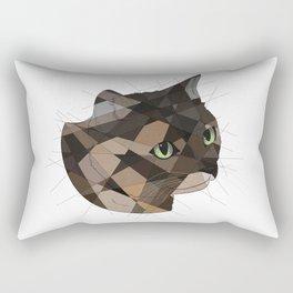 Tortie Cat Rectangular Pillow