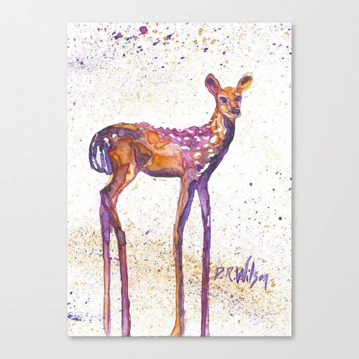 Rising Fawn Canvas Print