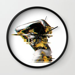Fazed Out Wall Clock