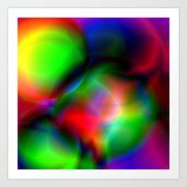 Acid trip Art Print