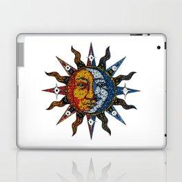 Celestial Mosaic Sun and Moon Laptop & iPad Skin