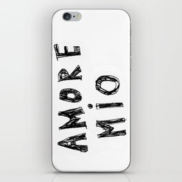 AMORE MIO iPhone Skin