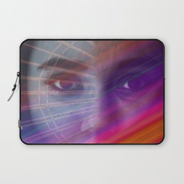 Rainbow portrait Laptop Sleeve