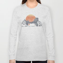 Trail of the dusty road Long Sleeve T-shirt