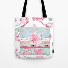 My Shabby Chic purse celebration Tote Bag