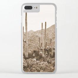 Bohemian Southwest Clear iPhone Case