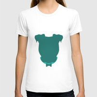 pit bull T-shirts featuring Pit Bull by The Velvet Buffalo