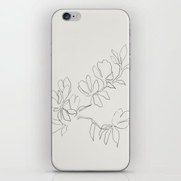 Floral Study no. 4 iPhone Skin
