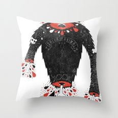 SALVAJEANIMAL headless II Throw Pillow