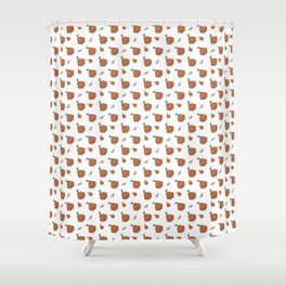 Halloween is coming I Pattern I Shower Curtain
