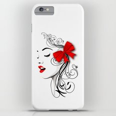 LADY WHITE Slim Case iPhone 6 Plus