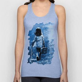My Book Collection Destination:Freedom Unisex Tank Top