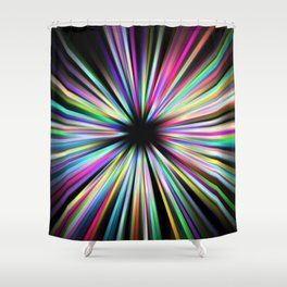 Zoompainting 3 Shower Curtain