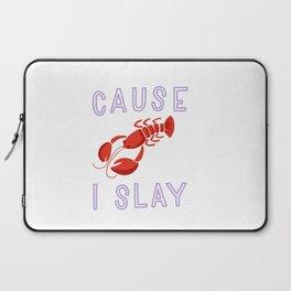 Slay Lady Slay Laptop Sleeve