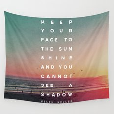 Face to the Sunshine Wall Tapestry