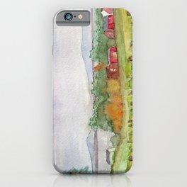 Snow Farm Winery iPhone Case