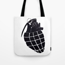Heart Grenade II Tote Bag