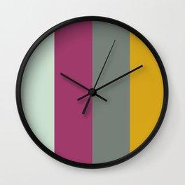 Color Ensemble No. 6 Wall Clock