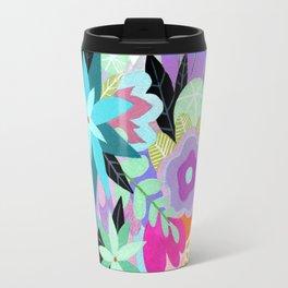 Love Blooms - Rainbow - text free Travel Mug
