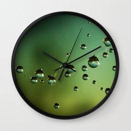micro worlds Wall Clock