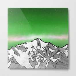 Hkakabo Razi Mountain Metal Print