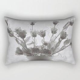Vintage Vase Rectangular Pillow
