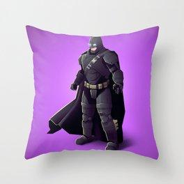 Darkn Knight Throw Pillow