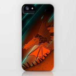 Rock Magma Dragon iPhone Case