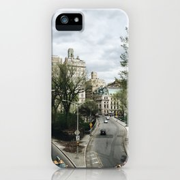 Central Park NYC View iPhone Case