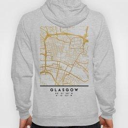 GLASGOW SCOTLAND CITY STREET MAP ART Hoody