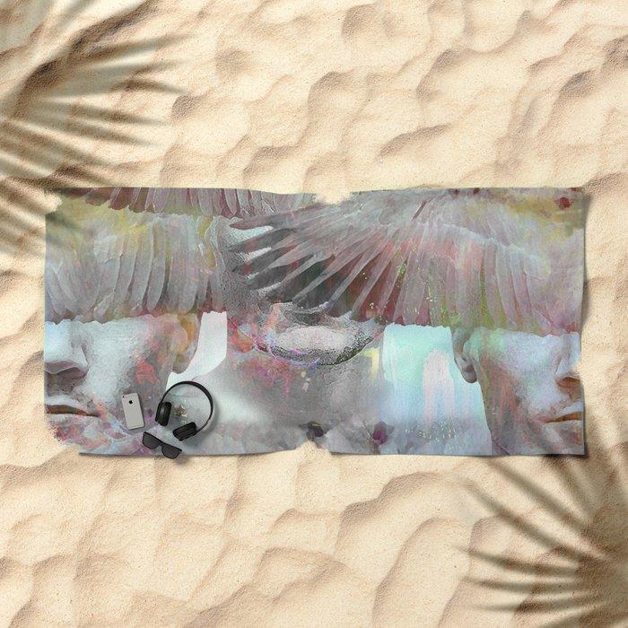 Lambs mystic Beach Towel
