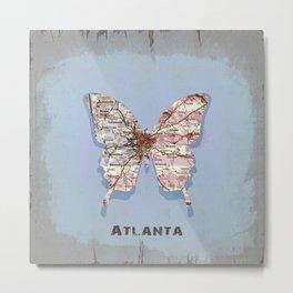 butterfly atlanta Metal Print