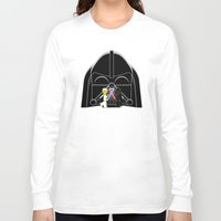 dark side Long Sleeve T-shirts featuring Dark Side by 1982 est. by A.W. Owens