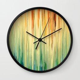 Pixel Sorting 58 Wall Clock