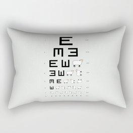 The EWE Chart Rectangular Pillow