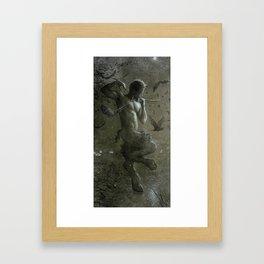 Pan's Dance with Bats Framed Art Print