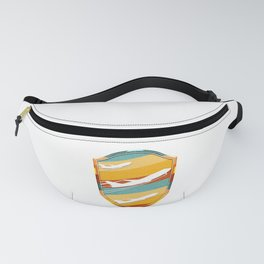 Retro Airplane Pilot Flying Vintage Aviation Fanny Pack