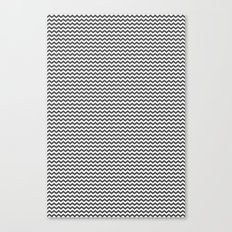 Chevron Grey Canvas Print